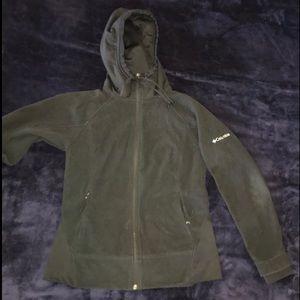 Men's Black Fleece COLUMBIA Jacket